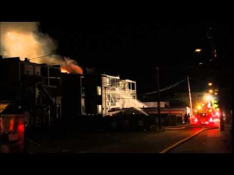 Radio Audio - Vancouver 4th Alarm Apartment Fire