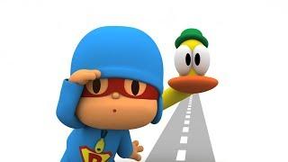 Супер Покойо - Как переходить дорогу - Правила безопасности - Сборник   Super Pocoyo - Safety rules