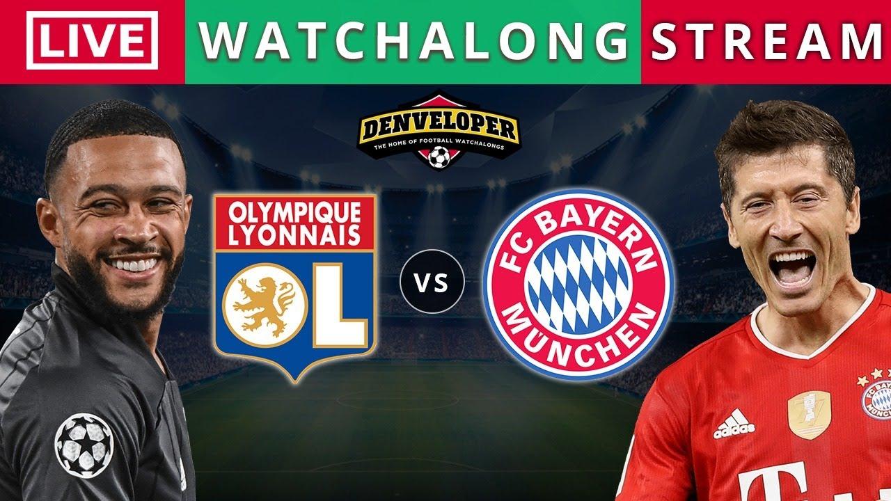 Lyon Vs Bayern Munich Live Stream Hd Football Watchalong Champions League Live Youtube