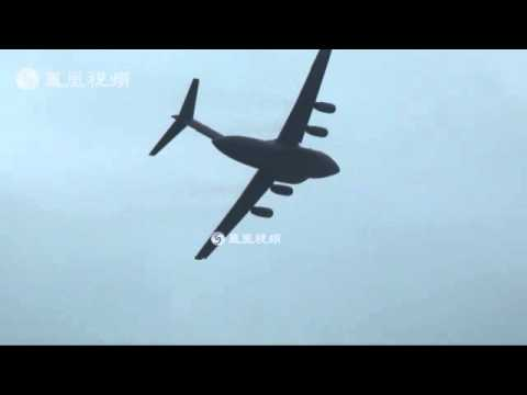 China new Large transport aircraft Y-20