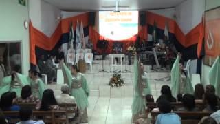 Ressuscitou Ele Está Vivo   Elaine de Jesus   Coreografia Louvor e Arte