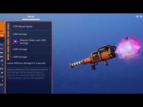 Kid Shows Me How To Get New Element Jack-o-launcher! Fortnite Save The World!