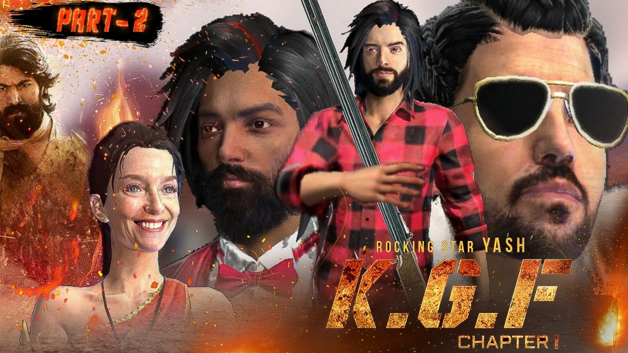 """K.G.F - Chapter 1 """"Part 2 Short Emotional story in Free Fire 