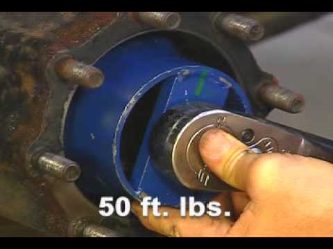 How To Adjust Wheel Bearings On A Rear Drive Axle