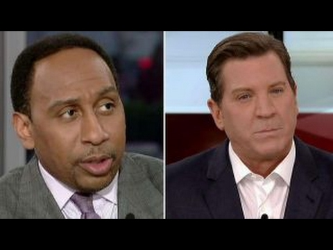 Stephen A. Smith and Eric Bolling spar over Trump