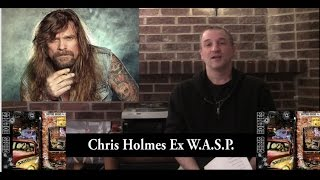 Ex-W.A.S.P. Chris Holmes Interview (Mean Man) 2015-The Metal Voice