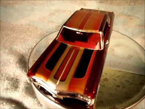 Low Rider Model Cars Custom Paint Gary Seeds PART 1 YouTube