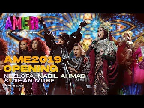 AME2019 Opening  Blackpink - Neelofa Nabil Siti Nurhaliza - Jihan I Anugerah MeleTOP ERA
