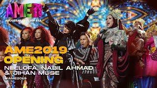 AME2019 Opening | Blackpink - Neelofa, Nabil, Siti Nurhaliza - Jihan I Anugerah MeleTOP ERA