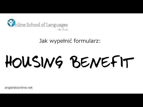 Jak wypelnić formularz na housing benefit