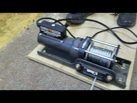 Video Clip Hay Carpet Winch Carpet Removal Tool