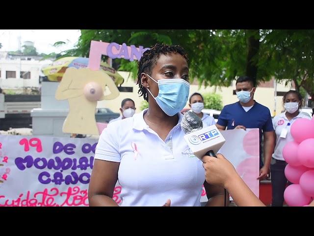 #Salud | HOSPITAL CÉSAR URIBE PIEDRAHITA REALIZA CAMINATÓN POR EL CÁNCER DE MAMÁ