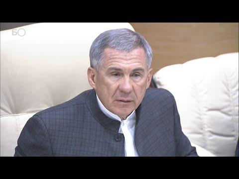 Минниханов провел совещание по смягчению ограничений в РТ: «Режим самоизоляции не отменяется»