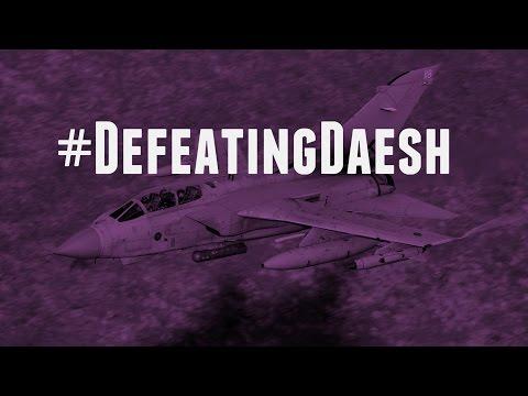 RAF Tornado strike on Daesh weapons storage 15 February 2016
