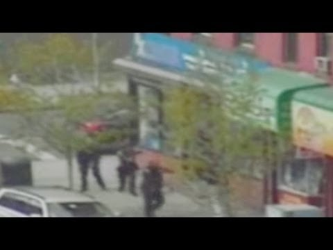Dramatic E. Harlem shoot-out captured on video - New York Post