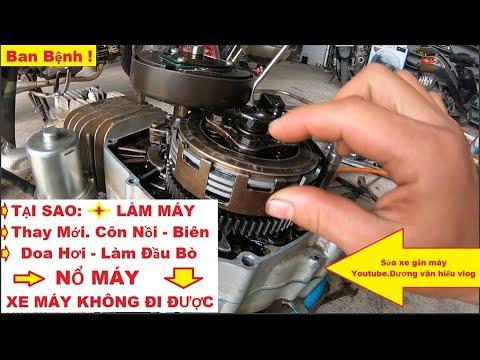 Làm Lại Máy Honda   Thay Mới Toàn Bộ   Xe Nổ Được   Không Đi Được   Learn Motorbike Repair
