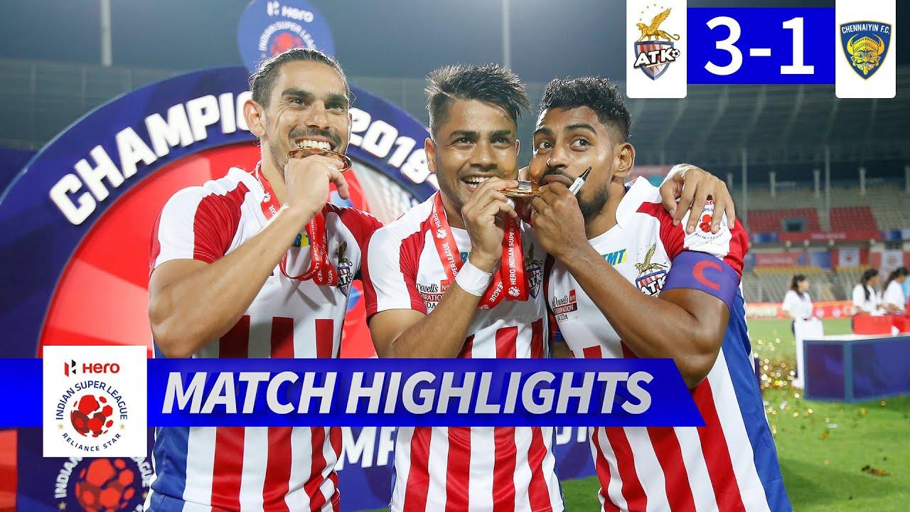 ATK FC 3-1 Chennaiyin FC   Hero ISL Final Match Highlights   Hero ISL 2019-20