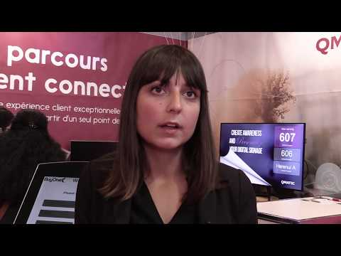#ParisRetailWeek 2017 - Interview de Qmatic
