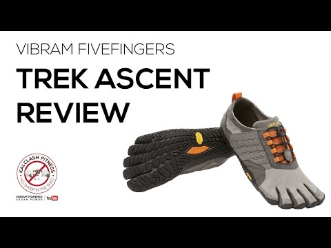 Vibram FiveFingers Trek Ascent review - barefoot running shoe review trail running