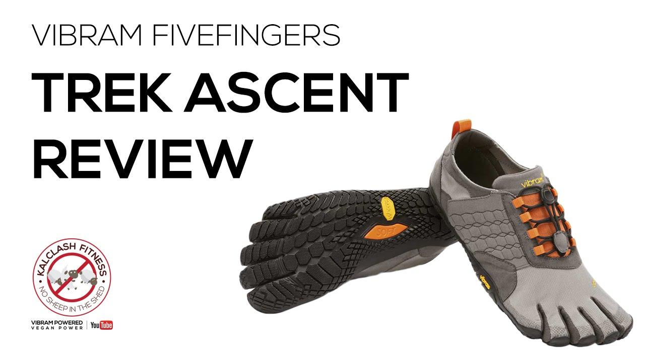 22b6eb3711a1 Vibram FiveFingers Trek Ascent review - barefoot running shoe review trail  running - YouTube