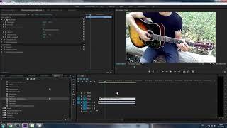 Как сделать в Adobe Premiere Pro что-бы больше не дергалась видео