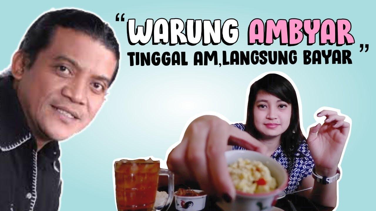 Warung Ambyar Tinggal Am Langsung Bayar I Kuliner Bandung Lastry