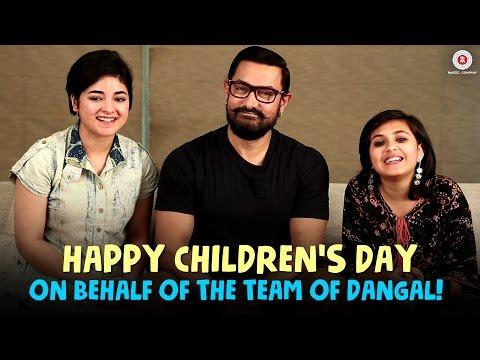 Happy Children's Day On Behalf Of The Team Dangal!!