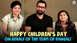 Download Hindi Video Songs - Happy Children's Day On Behalf Of The Team Dangal!!