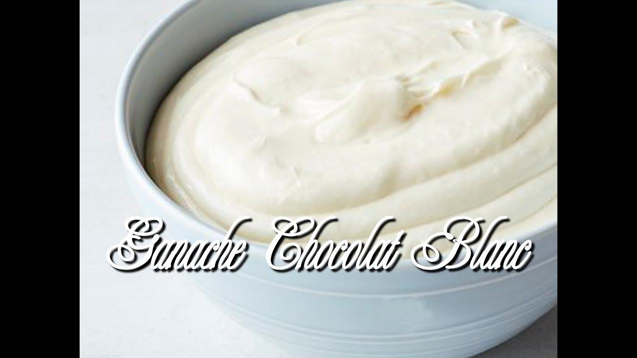 Ganache Montee Au Chocolat Blanc Vanille Ultra Facile Et Gourmande
