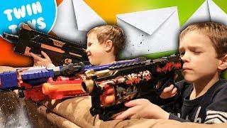 Nerf War:  Mail Time Mayhem 43