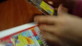 Ура-ура новое видео обзор на на ручки пахучки с блестками ????????И конечно на карандаши  ????????????????????????????