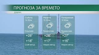 Прогноза за времето на 14-ти, 15-ти и 16-ти Юли 2018 г.