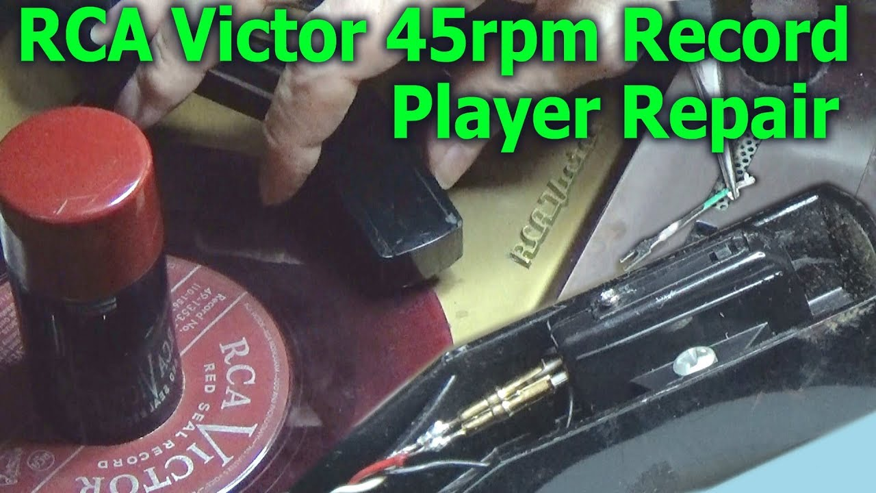 RCA Victor 45rpm Record Player