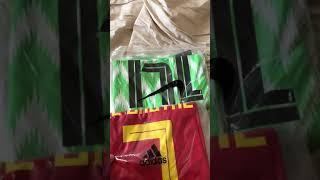 DHgate Jersey Opening/Review DE BRUYNE-BELGIUM & IIHEANACHO-NIGERIA
