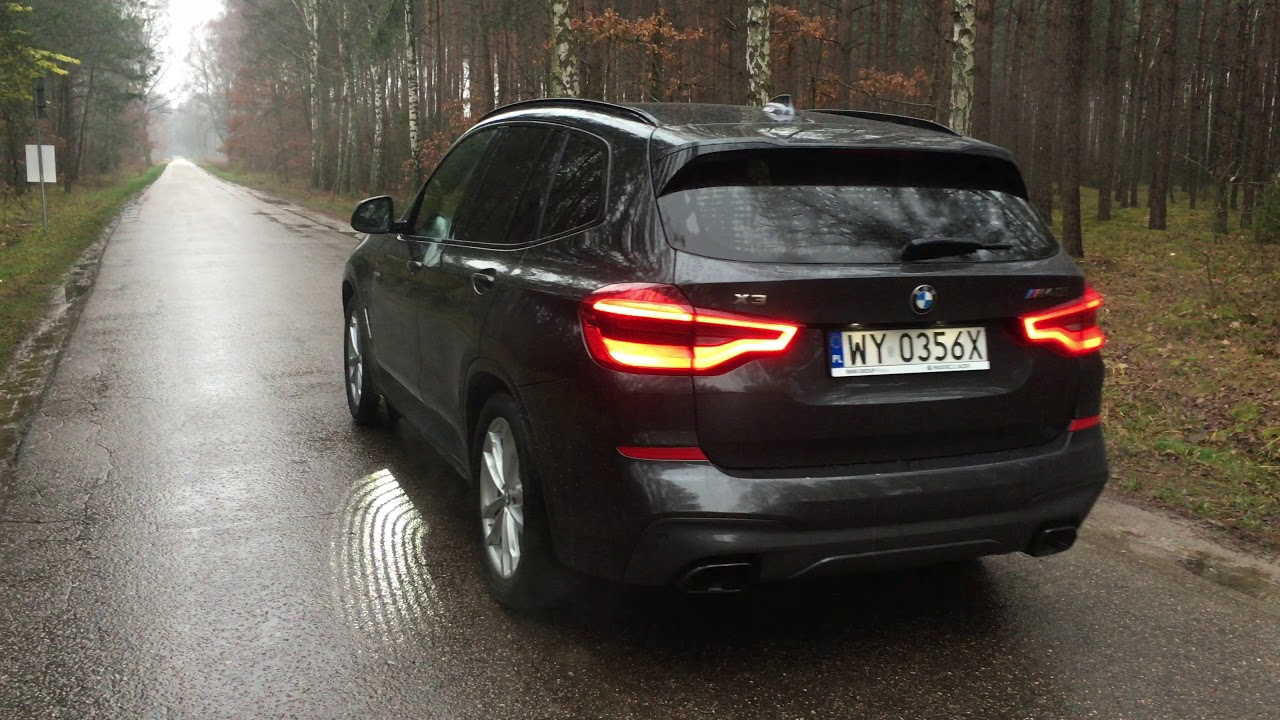 2018 bmw x3 m40i acceleration sound youtube for South motors bmw mini