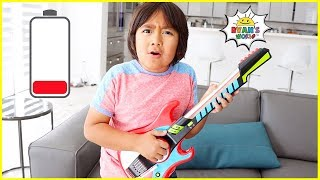 Download Ryan plays with DIY instruments Guitar Drums and more! Mp3 and Videos