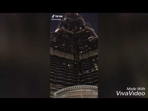 Burj Khalifa Tower   Burj AL Arab Beach Hotel   Dubai United Arab Emirates   Emann Vlog
