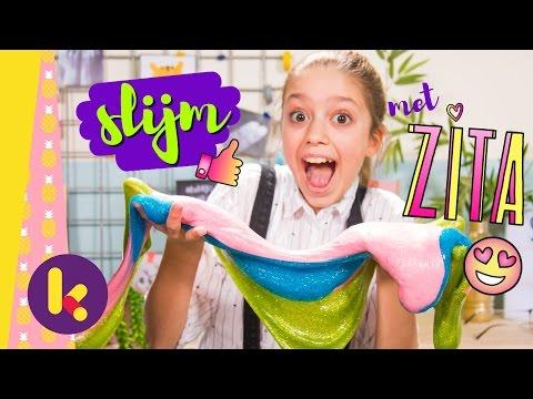 Hoe maak je slijm met Zita