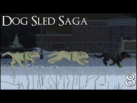 Night Race of Labrador Pups! || Dog Sled Saga - Episode #8 |