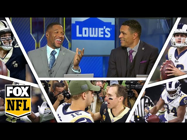 FOX NFL crew break down Week 9 Saints, Rams | FOX NFL