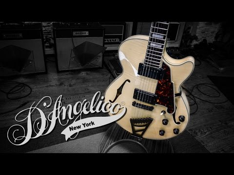 D'angelico EX-SS Hollowbody Guitar Awesomeness