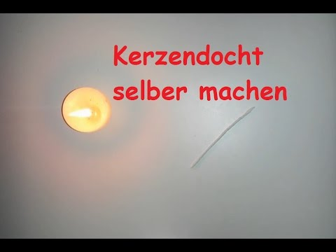 kerzendocht selber machen docht f r selbstgemachte kerzen selbst herstellen diy tutorial. Black Bedroom Furniture Sets. Home Design Ideas