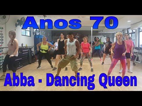 Anos 70 ABBA - Dancing Queen Coreografia   Choreography Dance fitness Zumba