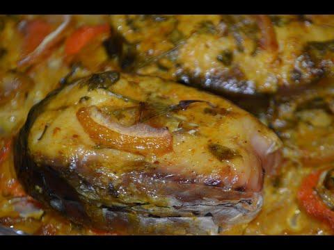 Рыба БЕЛЫЙ АМУР с розмарином ,лимоном и специями в духовке / Запеченная рыба / Очень нежная и сочная