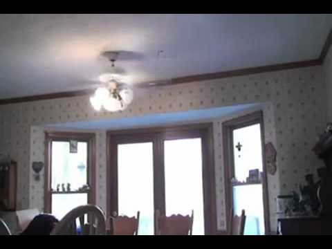 Dumbass Kid Sticks His Head In A Ceiling Fan Lulz Video