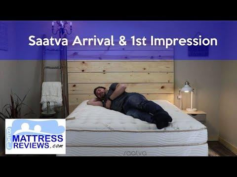 Saatva Unboxing/Opening & 1st Impression