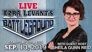 LIVE! Sheila Gunn Reid talks Tommy Robinson, Trudeau and  Canadian election controversies