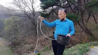 [nss-전원생활-양평-004] 계곡물 이용하여 나무 …