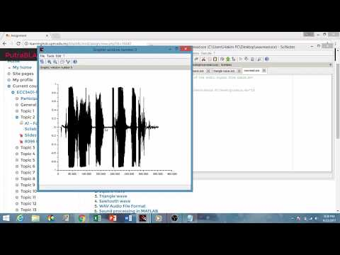 assignment 1 Digital Signal Processing (DSP) CCSE UPM - YouTube