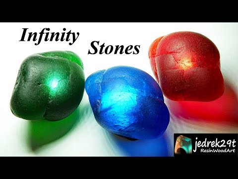 DIY. Infinity Stones with Epoxy Resin / ART RESIN